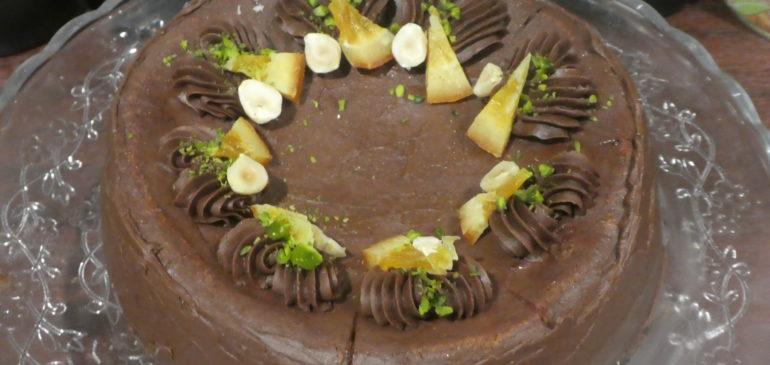 年末のケーキは